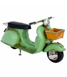 Modell Motorroller mit Einkaufskorb