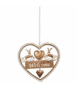 """Anhänger """"Welcome"""" Landhaus"""