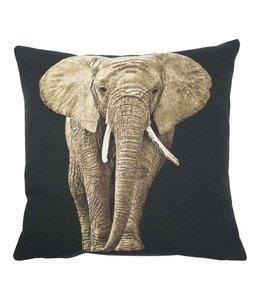 Kissenhülle Elefant 45x45