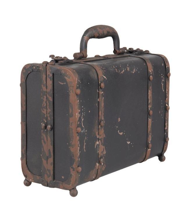 Deko-Koffer Vintage - Aufbewahrungsbox