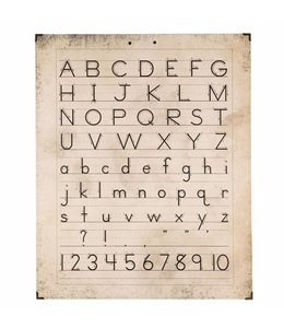 """Wandbild """"Alphabet"""""""