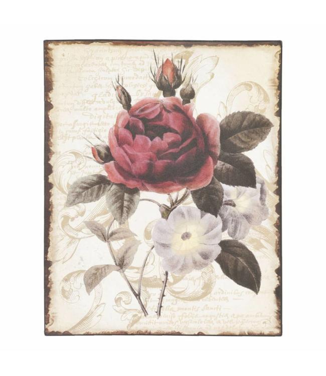 """Bild """"Rote Rose"""""""