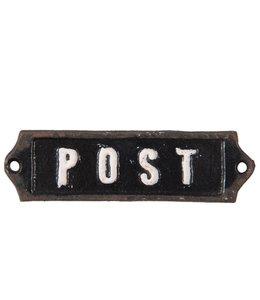 "Schild ""Post"""
