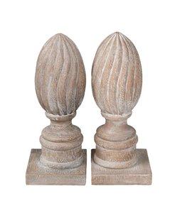 Buchstützen Ornamente