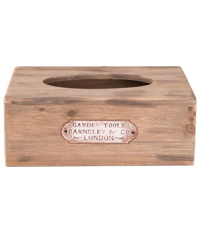 Box für Kosmetiktücher - Für Gartenfreunde