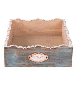 """Landhaus Servietten Servietten-Box """"Blue Cottage"""""""