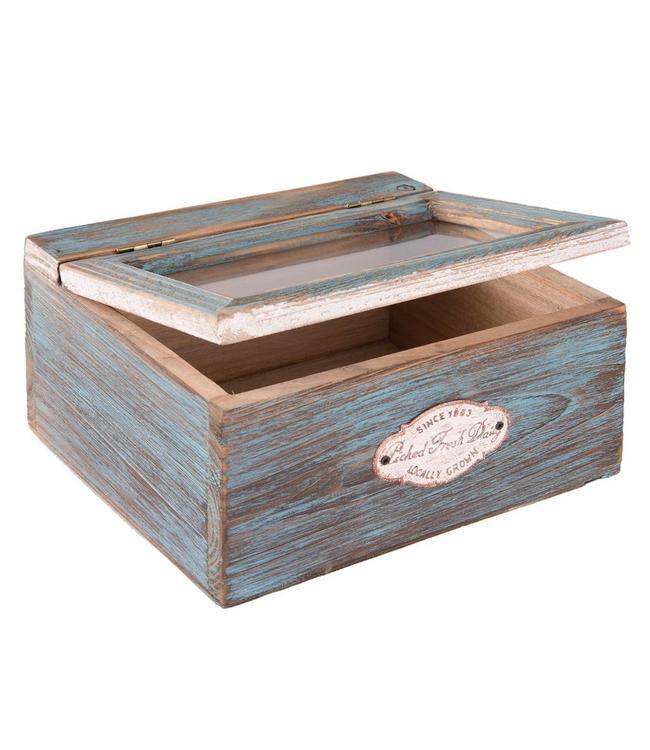 """Aufbewahrungsbox """"Blue Cottage"""""""