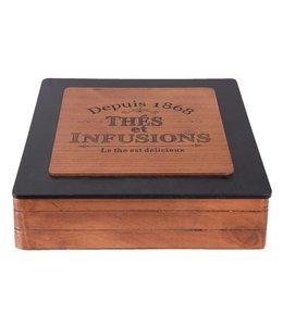 """Teebox """"Depuis 1868"""""""