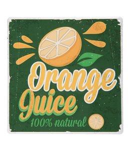 "Schild ""Orange Juice"""