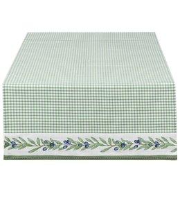 """Tischläufer """"Olivengarten"""" 50x140"""