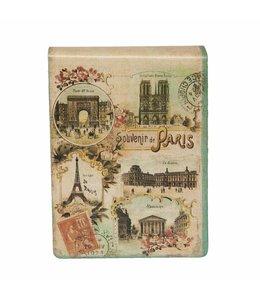 """Notizbuch """"Souvenir de Paris"""""""