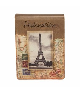 "Notizbuch ""Destination Paris"""