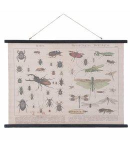 """Wandkarte """"Insekten"""""""