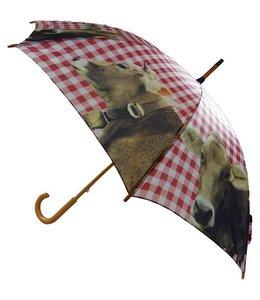 """Regenschirm """"Kuh"""" Alpenländlicher Landhausstil"""