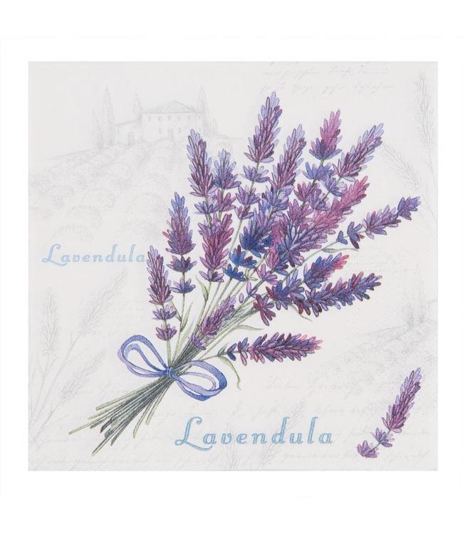 "Papierservietten ""Lavendel"""