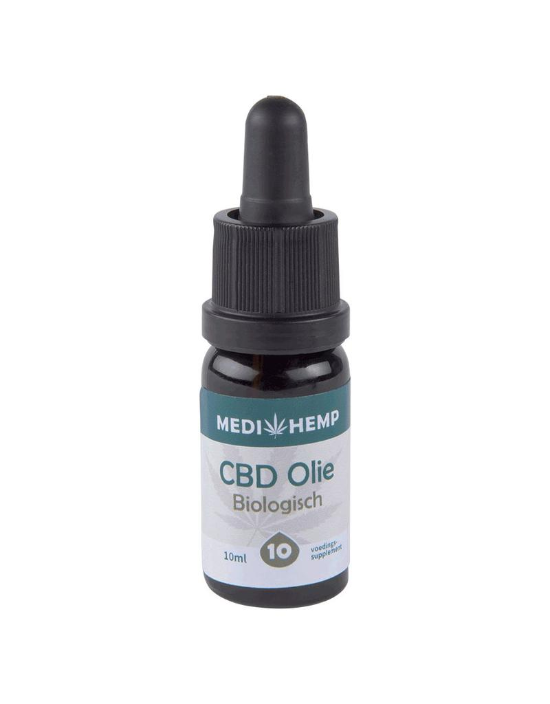 Medihemp Cbd olie 10% 10ml ~1000mg