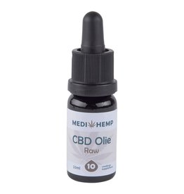 Medihemp Medihemp CBD Olie Raw 10% Naturel 10ml