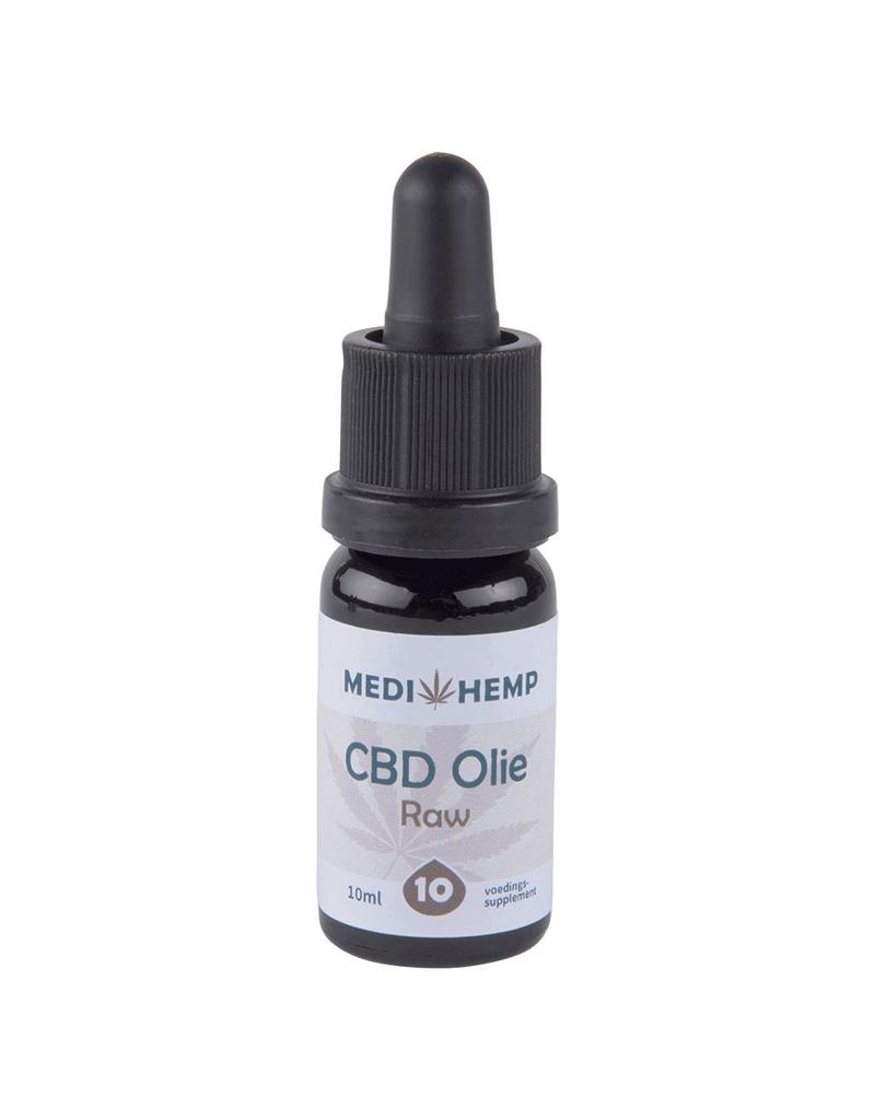 Medihemp Medihemp CBD Olie Raw 10% Naturel 10ml