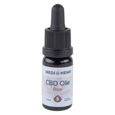Medihemp Medihemp CBD Raw 5% 10ml