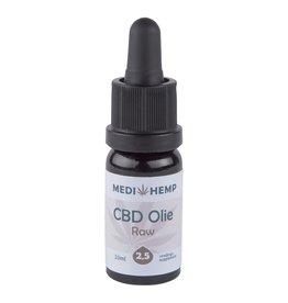 Bio Olie Raw 2,5% van Medihemp (10ml) op basis van cbd