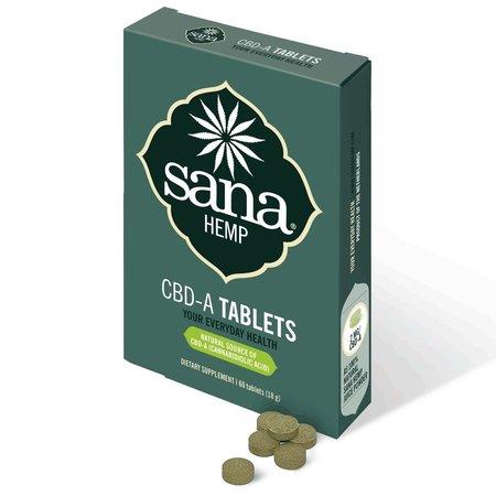 Sana hemp CBDA Tabletten
