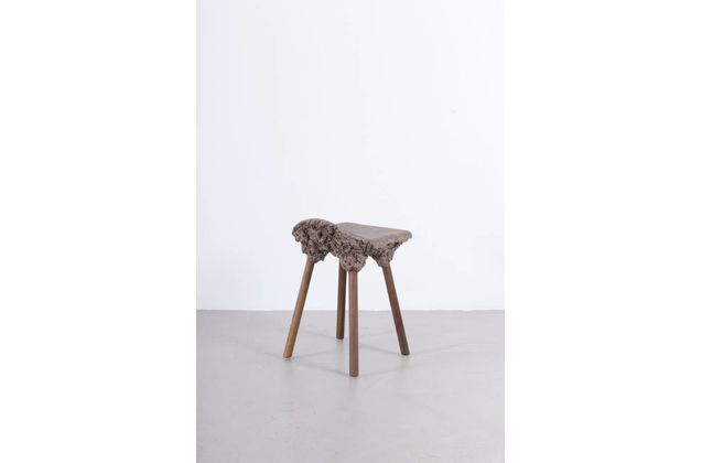 Marjan van Aubel & James Shaw Well Proven Stool Small