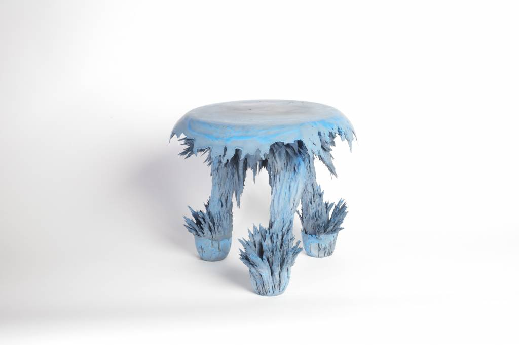 Gravity Stools - Blue & grey