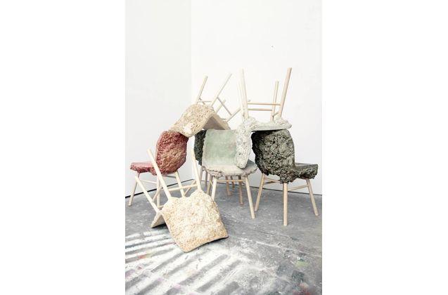 Marjan van Aubel & James Shaw Well Proven Chair
