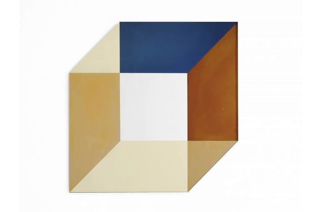 Lex Pott & David Derksen Large Cubic Transience Mirror