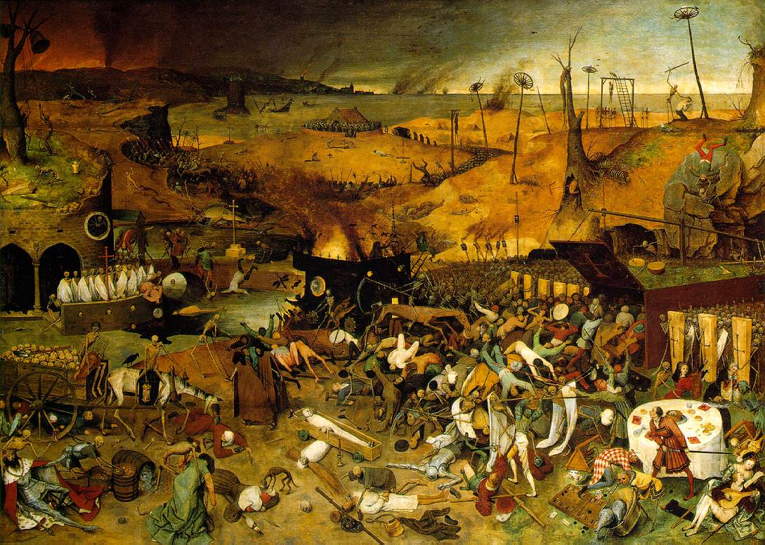 Painting named The triumpf of deathPainting by Pieter Bruegel the Elder, The triumph of death