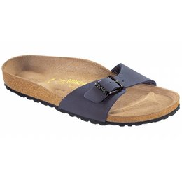 Birkenstock Madrid nubuck navy in 2 breedtes