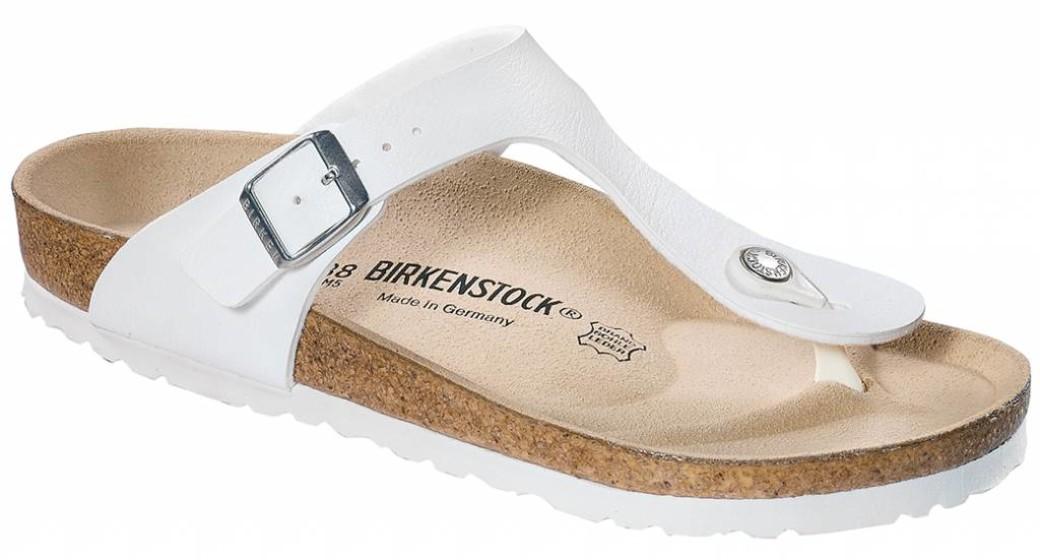 Birkenstock Gizeh wit