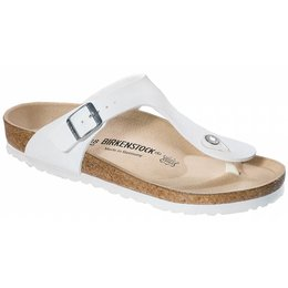 Birkenstock Gizeh wit in 2 breedtes