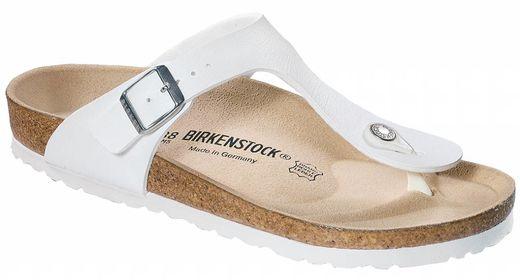 Birkenstock Birkenstock Gizeh wit in 2 breedtes