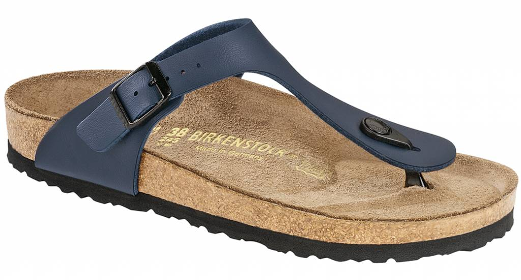 Sandales Birkenstock Birkenstock Hommes Noirs Gizeh V2e4UK