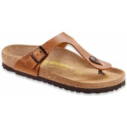 Birkenstock Gizeh antique brown leather