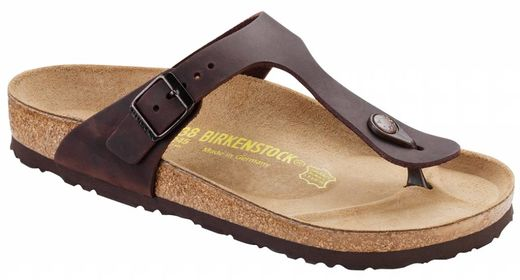 Birkenstock Birkenstock Gizeh habana oiled leather