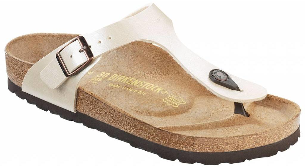 Birkenstock Gizeh graceful champagne, in 2 breedtes