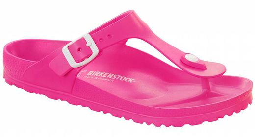 Birkenstock Birkenstock Gizeh EVA beach sandal neon pink