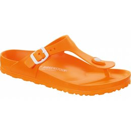 Birkenstock Gizeh kids eva neon orange