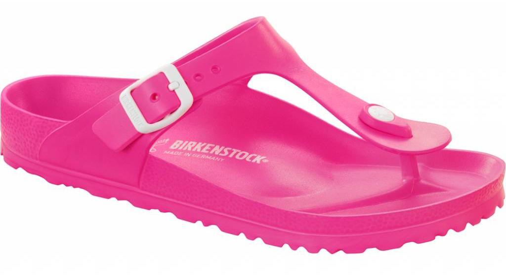 Birkenstock Gizeh kids eva neon roze
