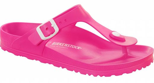 Birkenstock Birkenstock Gizeh kids EVA neon roze