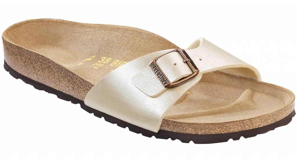 Birkenstock Madrid graceful champagne in 2 breedtes