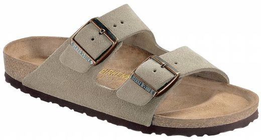 Birkenstock Birkenstock Arizona taupe suede leather