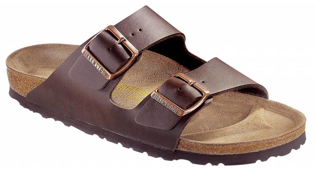 Birkenstock Arizona donkerbruin in 2 breedtes