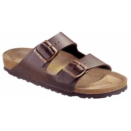 Birkenstock Arizona dark brown, in 2 widths