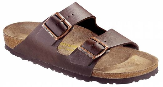 Birkenstock Birkenstock Arizona donkerbruin, in 2 breedtes