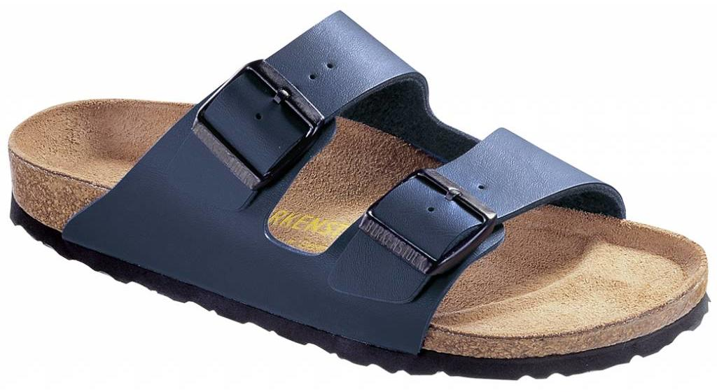 Birkenstock Arizona blue in 2 widths