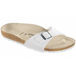Birkenstock Madrid wit in 2 breedtes