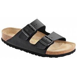 Birkenstock Arizona zwart, in 2 breedtes